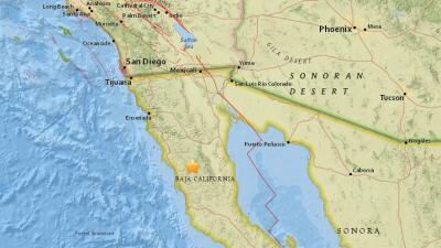 Temblor de 4.4 sacudió a Baja California
