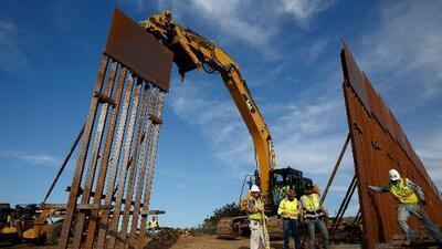 Revés para Trump: juez federal bloquea plan del presidente para construir partes del muro