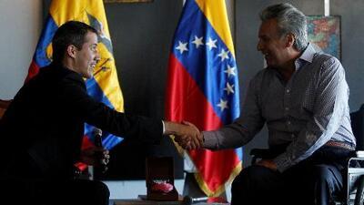 Lo más destacado de la reunión entre Juan Guaidó y Lenín Moreno