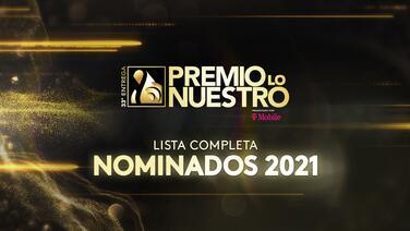 Premio Lo Nuestro 2021: lo mejor de la música latina.   Univision