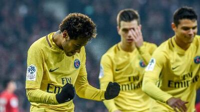 París Saint Germain sufre pero da un nuevo paso hacia el título