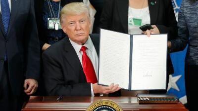 Texto de la orden ejecutiva de Trump sobre la seguridad en la frontera (en inglés)