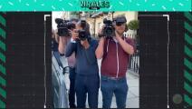 """Mourinho y su video quejándose de la prensa por """"no darle privacidad"""""""
