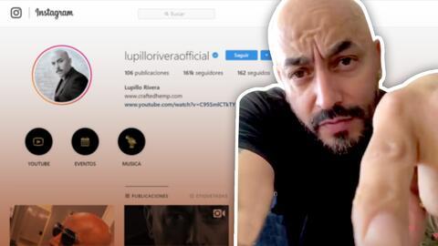 """""""Dejen de seguirme"""": Lupillo Rivera lanza duro mensaje a quienes lo critican"""