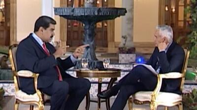"""""""Si fueras venezolano tendrías que enfrentarte a la justicia"""": la amenaza de Maduro a Jorge Ramos"""