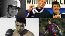 Las 20 estrellas del deporte que brillaron antes de sus 20 años