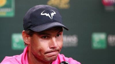 Nadal abandona Indian Wells por lesión; Federer, a la Final