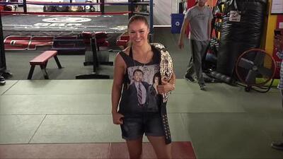 Ronda Rousey habla sobre su derrota devastadora