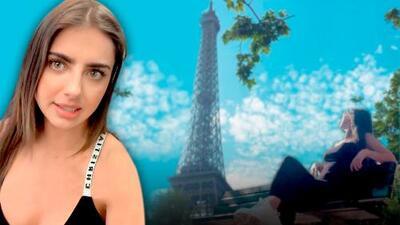 """Michelle Renaud viaja a París y recuerda a Danilo Carrera: """"En la ciudad del amor, sin mi amor"""""""