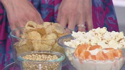 Opciones saludables para reemplazar esos 'snacks' que tanto te gustan pero le hacen daño a tu salud