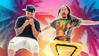Nicky Jam y el Dj Steve Aoki juntos en un tema que ha sido todo un 'jaleo' a nivel mundial