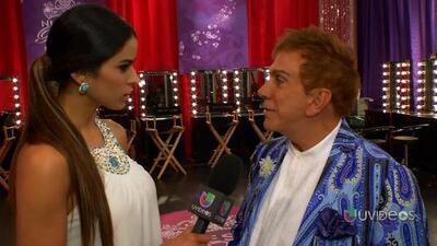 Osmel Sousa habló de su 'look' en la cuarta gala de Nuestra Belleza Latina
