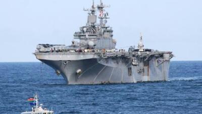 Trump dice que la Armada de EEUU derribó un dron iraní