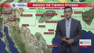 Permanece la nubosidad en el centro de Texas