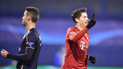 Dinamo Zagreb 0-2 Bayern Munich: Lewandowski sigue en fuego en victoria de trámite