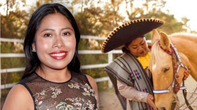 Yalitza Aparicio emocionada cuenta cómo ayuda a su hermana a iniciar una carrera de artista