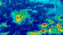 Lane se debilita y se convierte en tormenta tropical