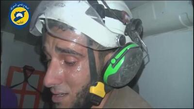 Muere el rescatista sirio que conmovió al mundo al romper en llanto tras revivir a una bebé