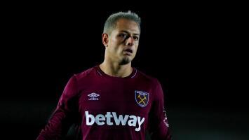 Gran noticia: 'Chicharito' está recuperado y ya entrena con sus compañeros en el West Ham