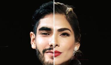 Parecen mellizos: Alejandra Espinoza y su hermano Miguel Ángel son igualitos y estas fotos lo demuestran