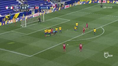 Canadá cerca de abrir el marcador en el primer disparo del partido