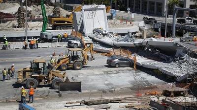 Juez federal bloquea hacer públicos los registros de la investigación del colapso del puente de FIU