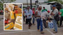 Distribuyen alimentos y mascarillas para jornaleros en el área de Houston