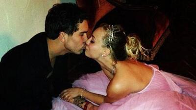 Kaley Cuoco se casó con Ryan Sweeting en Año Nuevo