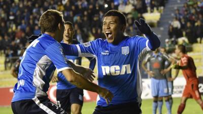 Racing saca empate ante Bolivar y clasifica a octavos de final de Copa Libertadores