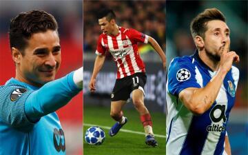 Estos son los mexicanos que estarán involucrados en la UEFA Champions League 2019-20