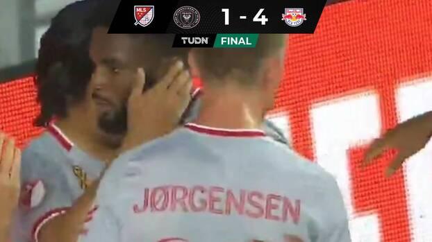 Sin Higuaín, Inter Miami perdió invicto en casa con el New York Red Bulls