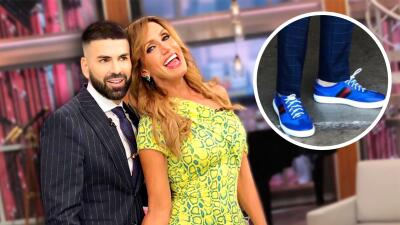 Lili Estefan no es la única: Jomari Goyso también ama los zapatos (y por ellos ha recibido críticas que le resbalan)