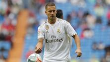 Una más: Eden Hazard sufre una lesión muscular y será baja en el Real Madrid
