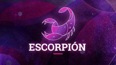 Escorpión - Semana del 31 de diciembre al 6 de enero