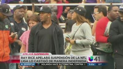 Ray Rice apela suspensión indefinida