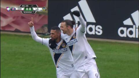 ¡GOOOL! Zlatan Ibrahimovic anota para LA Galaxy