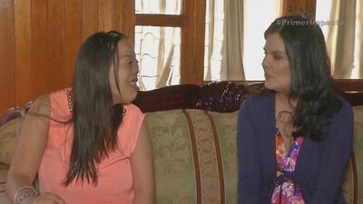 Una jovencita mexicana se llena de esperanza