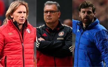 ¿Qué tienen Ricardo Gareca, 'Tata' Martino y André Villas-Boas para dirigir a México?