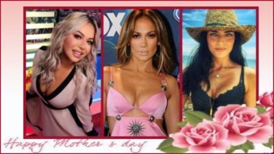 Así celebraron estas famosas el Día de las Madres