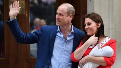 Nace el tercer hijo del príncipe William y Kate Middleton
