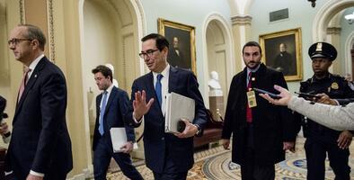 Intensas negociaciones entre demócratas y el gobierno para lograr un acuerdo sobre el paquete de estímulo por coronavirus