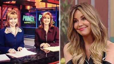 Myrka Dellanos recuerda con una sonrisa cuando debutó en televisión en Primer Impacto
