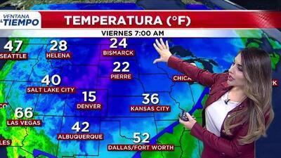 'Dallas en un Minuto': frío y mucho viento, el pronóstico del clima para este viernes