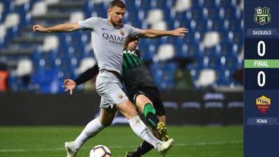 Roma empata y se aleja de la Champions League