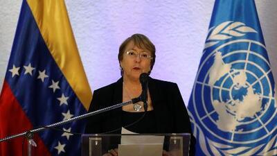 """Lo que vio Bachelet en Venezuela para decir que """"la situación humanitaria se ha deteriorado de forma extraordinaria"""""""
