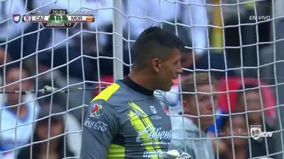 Tiro desviado de Pablo Aguilar