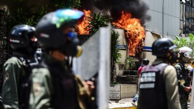 En fotos: La oposición paraliza Venezuela por 24 horas