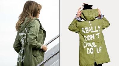 """""""Realmente no me importa, ¿a ti sí?"""", decía la chaqueta de Melania Trump cuando fue a visitar niños inmigrantes detenidos en Texas"""