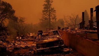 Tornados de fuego destruyeron este pueblo en California