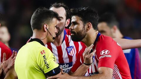 ¡Se le acabó la temporada! Diego Costa es castigado ocho partidos por insultar al árbitro